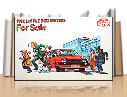 The Little Red Metro For Sale